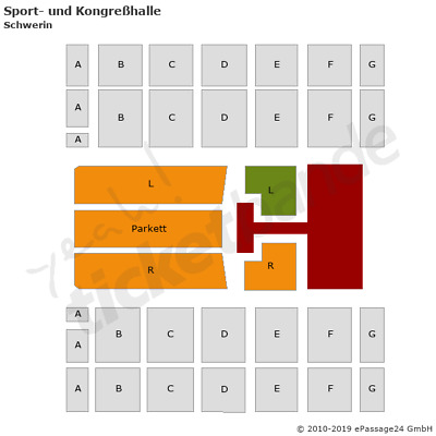 The Kelly Family Schwerin Tickets 13.12. Front of Stage FOS