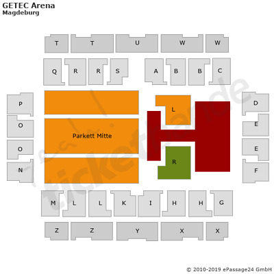 The Kelly Family Magdeburg Tickets 28.11. Front of Stage FOS