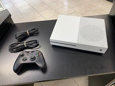 Microsoft Xbox One S 500GB Video Game Console 1681 White