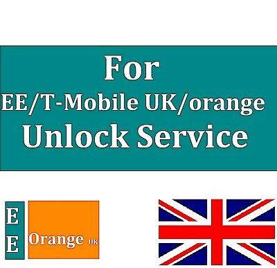 Unlocking Service FOR EE ORANGE UK VIRGIN TMOBILE UK FOR IPHONE 7 6S 6+ 5 5S 4S