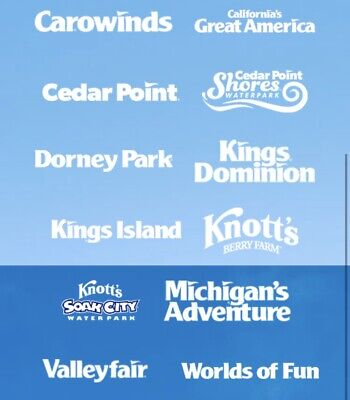 4 Single Day Tickets to Cedar Point