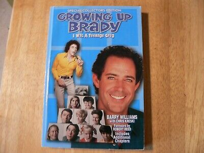 Growing Up Brady - I Was A Teenage Greg autographed by Barry Williams
