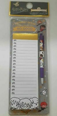 Harry Potter Stationery Set A5 Notebook Hermione Pen/Magnetic To Do List Primark