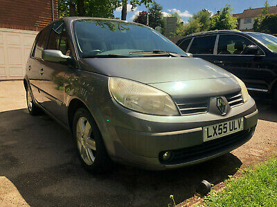 2005 Renault Scenic Dynamique 1.6 16V Automatic 42K Miles 3 Owners Grey