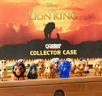 Woolworths The Lion King Disney OOSHIES Pick Your Own Full set  Rare orange blue
