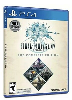 Final Fantasy XIV Online The Complete Edition Shadowbringers (Sony PS4) - New