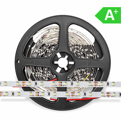LED Strip 12V SMD3528 4,8 Watt/m 60LED/m | 190lm/m 5m Rolle 8mm breit 2700-6500K