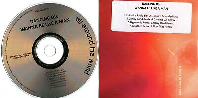 Dancing DJs - Wanna Be Like - (8 Track Promo CD) All Around The World Records