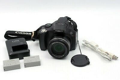 Canon PowerShot SX40 HS 12.1MP Digital Camera with extras