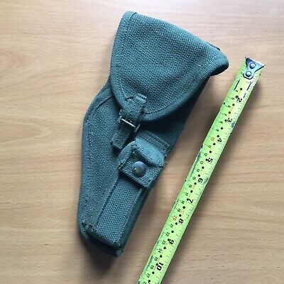 Original Canadian '51 Pat. Browning Holster As Used By British Army In Malaya