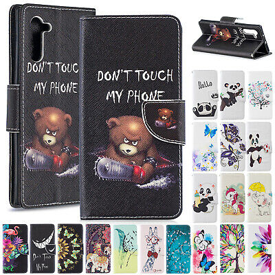 For Samsung Galaxy Note 10 Case 10 Pro Magnetic Leather Flip Stand Wallet Cover