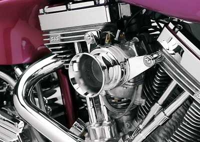 VELOCITY STACK SHORT Polished E G Carb S&S - $66 95   PicClick