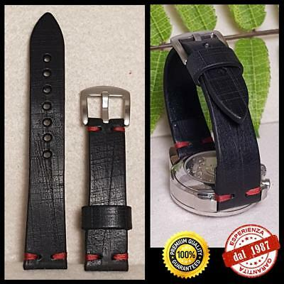24mm Watch Strap Handmade in Italy. Cinturino per Orologio.ideal for Omega Rolex