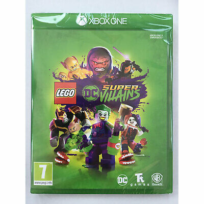 LEGO DC Super Villains XBOX ONE New and Sealed