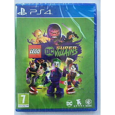 LEGO DC Super Villains (PS4) New and Sealed