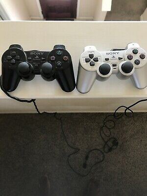 Official Sony Playstation 2 PS2 OEM DualShock Controllers SCPH-10010 WORKS
