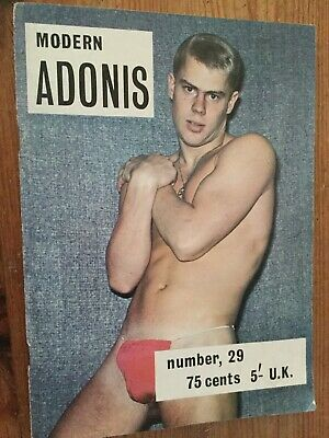 MODERN ADONIS Rare Vintage Muscle Boy Model Magazine Gay Interest Nr 29