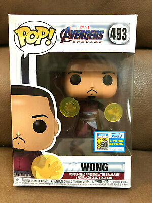 Funko POP  Marvel Avengers End Game Wong 2019 SDCC Shared Exclusive Conf Order