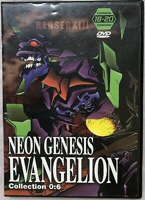 Neon Genesis Evangelion Collection 0:6 18-20 Japan Anime Classic Dvd 2000 ADV