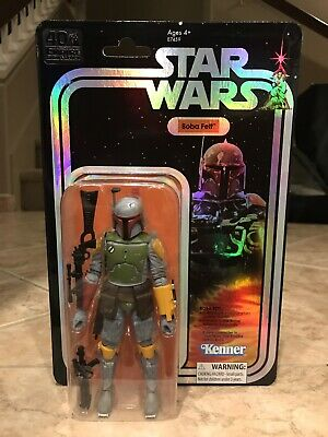 SDCC 2019 Hasbro Star Wars Black Series Boba Fett Figure IN HAND