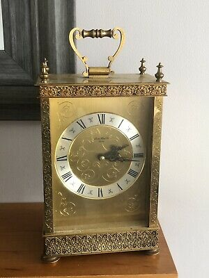 Quality Vintage Mantel Carriage Clock - London Clock Co Quartz