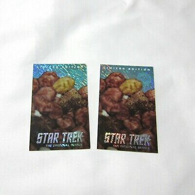 2 x Rare Dave & Buster's Star Trek Coin Pusher Arcade Card Tribbles Foil Holo