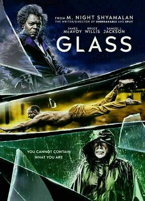 GLASS DVD Movie 2019 Brand New & Sealed USA FREE SHIPPING Slipcover GLASS