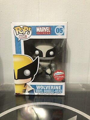 Funko Pop! Marvel X-Men Wolverine Black & White - Fugitive Toys Exclusive