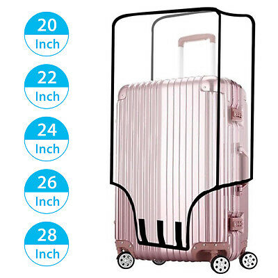 "20""-28"" Protective Luggage Suitcase Dust Cover Protector Elastic Anti Scratch US"