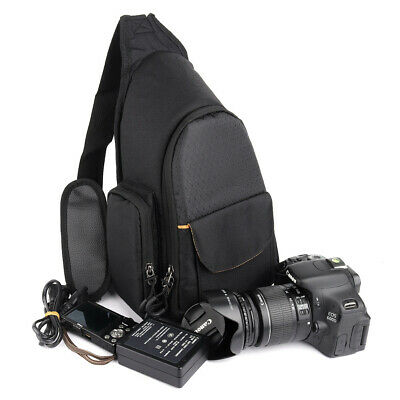 SLR DSLR Triangle Camera Bag Cover Shoulder Case Waterproof for Canon Sony Nikon