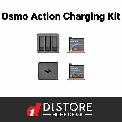 Official DJI Osmo Action Charging Kit With Charger and 2 Batteries Aus Stock