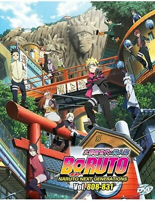 Anime DVD BORUTO: NARUTO NEXT GENERATIONS Chapter. 808-831 (BOX 29) New