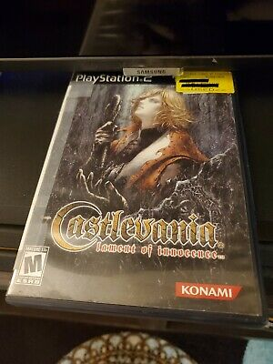 Castlevania: Lament of Innocence (Sony PlayStation 2, 2003) Complete