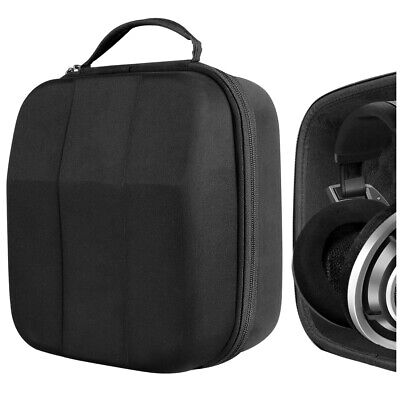 Geekria Full Size Hard Shell Large Carrying Case for Over-Ear Headphones