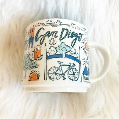 Starbucks Been There Series San Diego Mug Limited Edition
