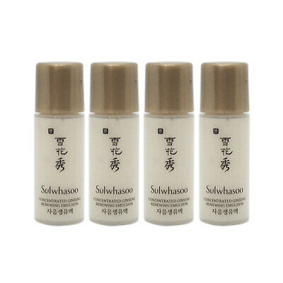 [Sulwhasoo] Concentrated Ginseng Renewing Emulsion Samples - 5ml x 4ea (20ml)