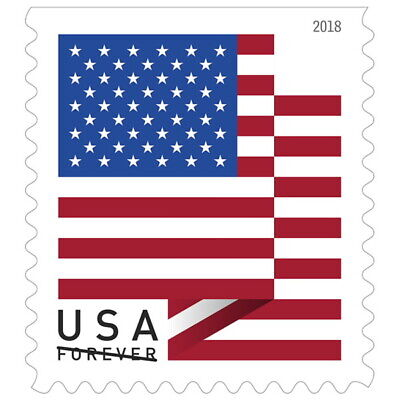 2018 US Flag Forever Stamps - First-Class Postage - Pack of 500 Stamps