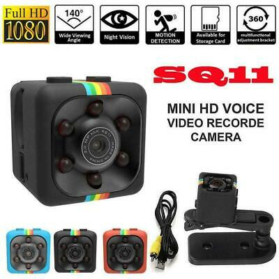 SQ11 Spy Hidden DV DVR Camera Full HD 1080P Mini-Car IR Cam Dash Night-Visi X9H6