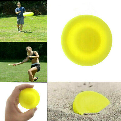 Flying Disc Mini Pocket Flexible UFO Saucer Spin in Catching Game TOP