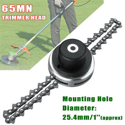 2 Types 65Mn Trimmer Head Coil Chain Brush Cutter Trimmer Grass For Lawn Mower