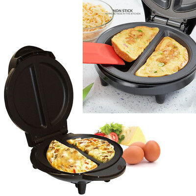 1000W Electric Omelette Maker Making Machine Non Stick Breakfast Egg Cooking Pan