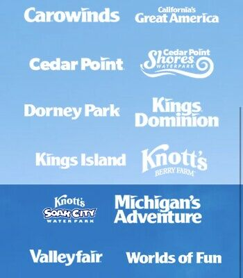 2 Single Day Tickets to Cedar Point