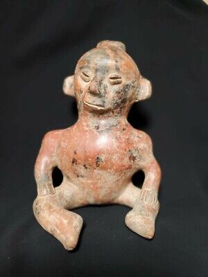 Pre-Columbian Colima figure from Mexico. Ca. 400 bc.