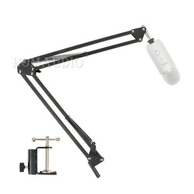 Suspension Mic Boom Scissor Arm For Blue Snowball Ice Yeti Pro Microphone Stand
