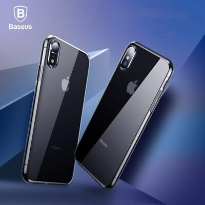 Baseus Phone Case For iPhone Xs Max XR Ultra Thin Transparent TPU Silicone Cover