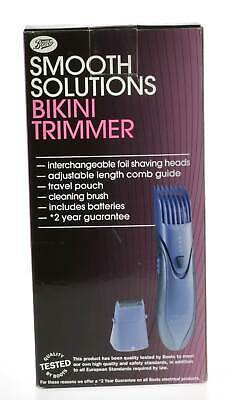 Boots Smooth Solutions Bikini Trimmer