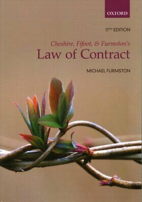 Cheshire, Fifoot, and Furmston's Law of Contract by M. P. Furmston 9780198747383