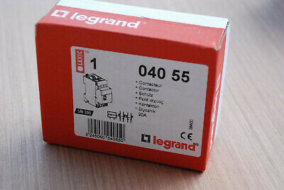 LEGRAND Lexic 04055 (Ref: 040 55) - Contacteur bipolaire 20A - 230v NEUF !