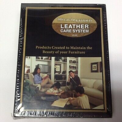 Miracle Guard PREMIUM Leather Care System Factory Sealed NEW