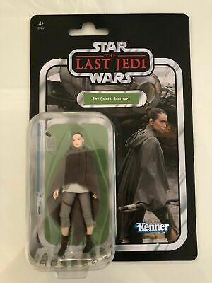 """New Star Wars The Last Jedi Rey Island journey 3.75"""" VINTAGE COLLECTION FAST P&P"""